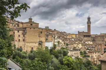 Panorama di Siena, italia