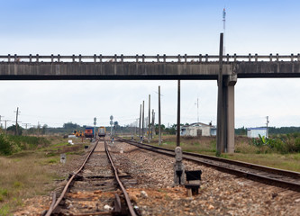 Cuba. Railway crossing...