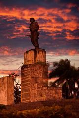 Cuba. Santa Clara. Monument Che Guevara