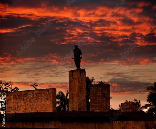 Papiers peints Caraibes Cuba. Santa Clara. Monument Che Guevara
