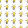 Doodle light bulbs