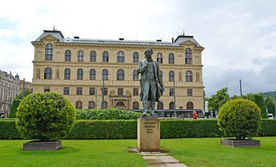 Monument to the composer Antonin Dvorak (1841-1904). Czech Rep