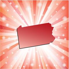 Red Pennsylvania.