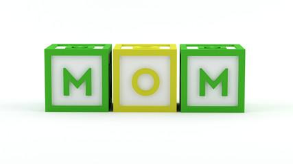 Play blocks - Mom