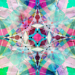 bright abstract pattern