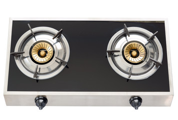 gas stove the necessary kitchenware