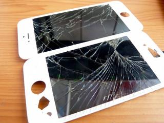 The broken panel