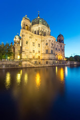 Backside of the Dom in Berlin
