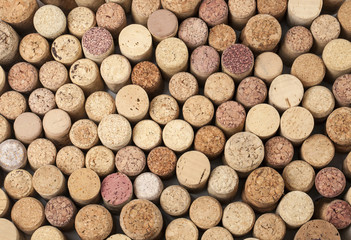 Stacked cork