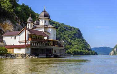 Mraconia Monastery on Danube coastline