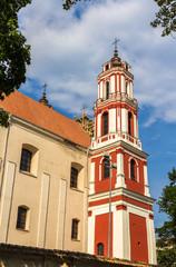 Church of St. Apostles Philip and Jacob in Vilnius