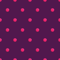Simple polka dot pattern
