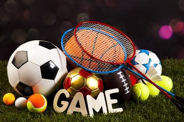 Game, Sports Equipment