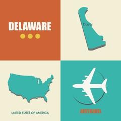 Delaware flat