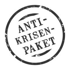 sk140 - StempelGrafik Rund - Anti-Krisenpaket - g1570