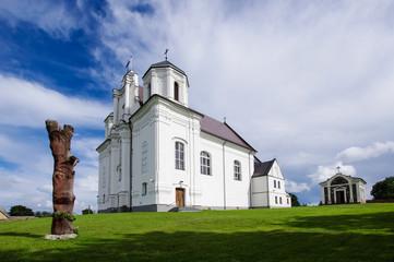 Catholic church in Kraziai Lithuania