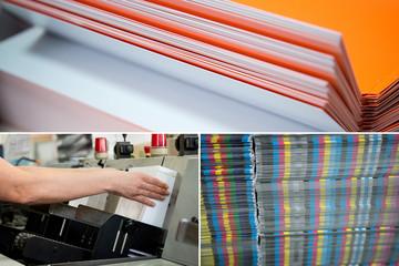 Druckerei *** Papierverarbeitung