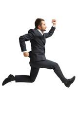 businessman in formal wear