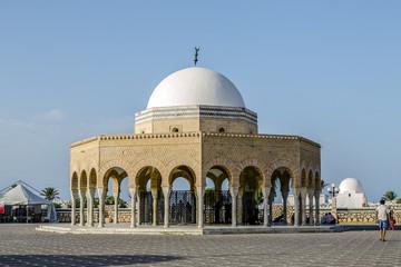 Mausoleum of Habib Bourgiba in Monastir