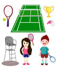 set of tennis sport