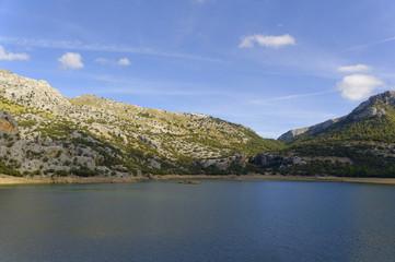 Mallorca, altes Haus am Gorg Blau