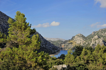 Mallorca, am Panta de Gorg Blau