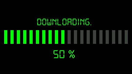 downloading progress bar - digital green