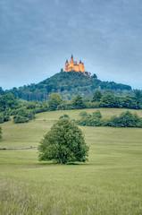 Hohenzollern Castle in Baden-Wurttemberg, Germany