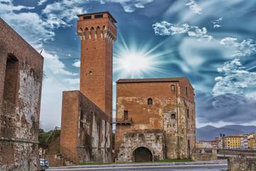 Old castle in Pisa