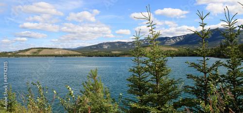 Papiers peints Riviere Yukon River, Whitehorse, Yukon, Canada