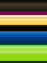 Multicolor horizontal strip abstract background