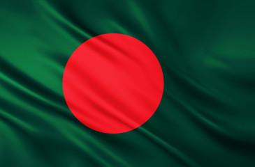 The National Flag of Bangladesh