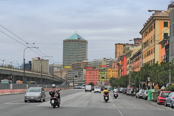 Verkehr in Genua