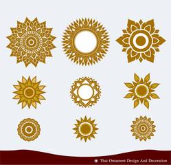 Thai Ornament Design