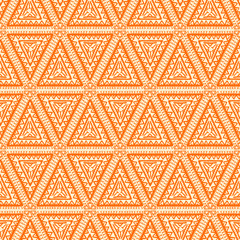 orange triangles - 2