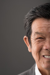 Senior Vietnamese man