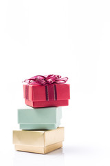 gift box isolated with space for your create