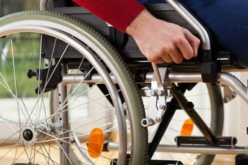 Wheelchair breaks