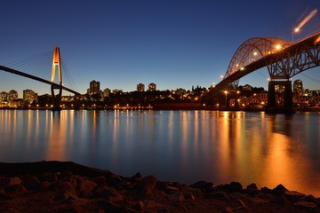 Pattullo Bridge and the Skybridge