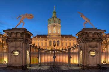 Schloss Charlottenburg am Abend