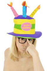 """Twen mit Hut """"Happy Birthday"""""""