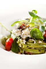 Green Fettucine