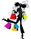 Fototapety Crazy Shopping