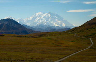 Mount Mc Kinley (Denali) in Alaska