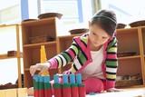 Montessori cylinder classroom