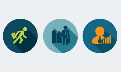 Collections human resources - Vectors set