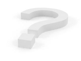Big Question White