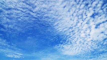 beautiful clouds and bule sky