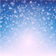 Weihnachten Hintergrund mit glitzernden sternen