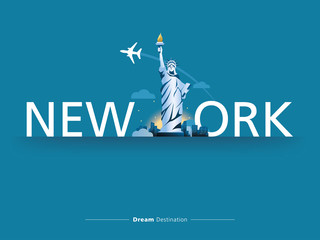 New York  typography